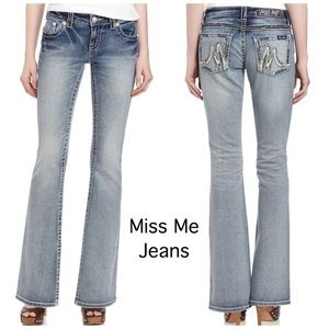Miss me jeans flare mulberry size 25